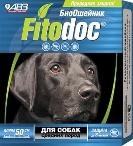 Фитодок ошейник для собак средних пород