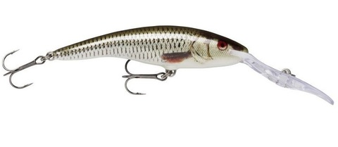 Воблер RAPALA Deep Tail Dancer 13 см, 42 г, цвет ROL
