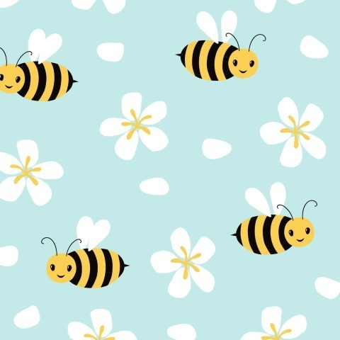 Пчелки в небе