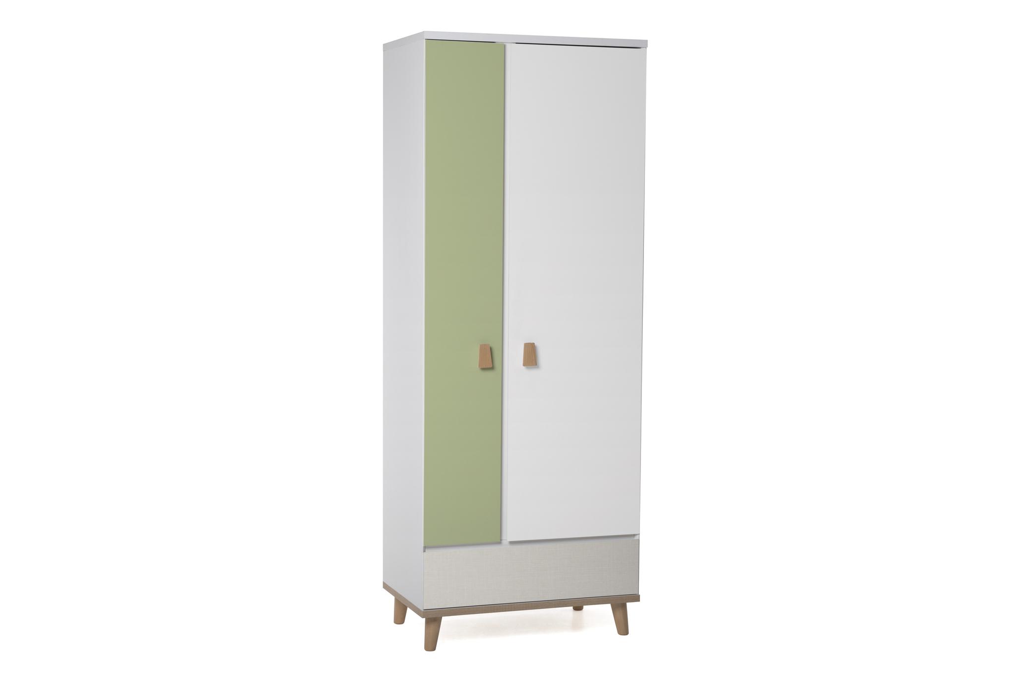Шкаф LX 31 (зелёный-принт)