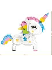 Конструктор LOZ Единорог 640 деталей NO. 9204 Unicorn iBlockFun Series