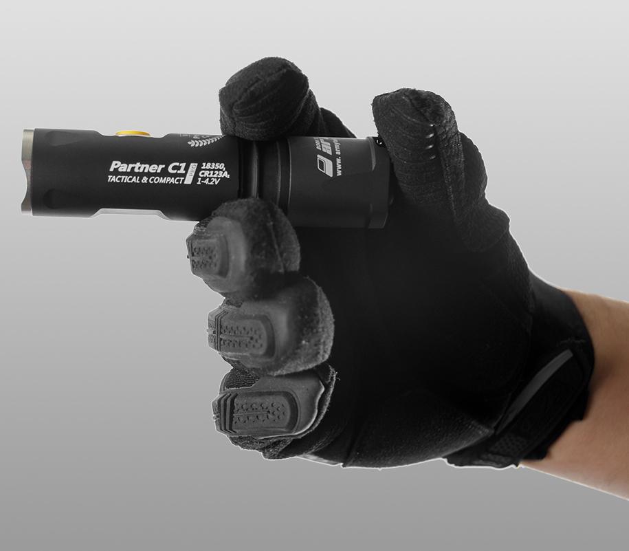 Тактический фонарь Armytek Partner C1 Pro (тёплый свет) - фото 3