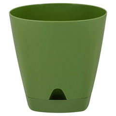 Горшок для цветов  AMSTERDAM D 140 mm/1,35l  оливковый ING6199ОЛ