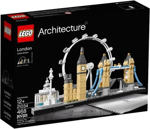LEGO Architecture: Лондон 21034 — London — Лего Архитектура