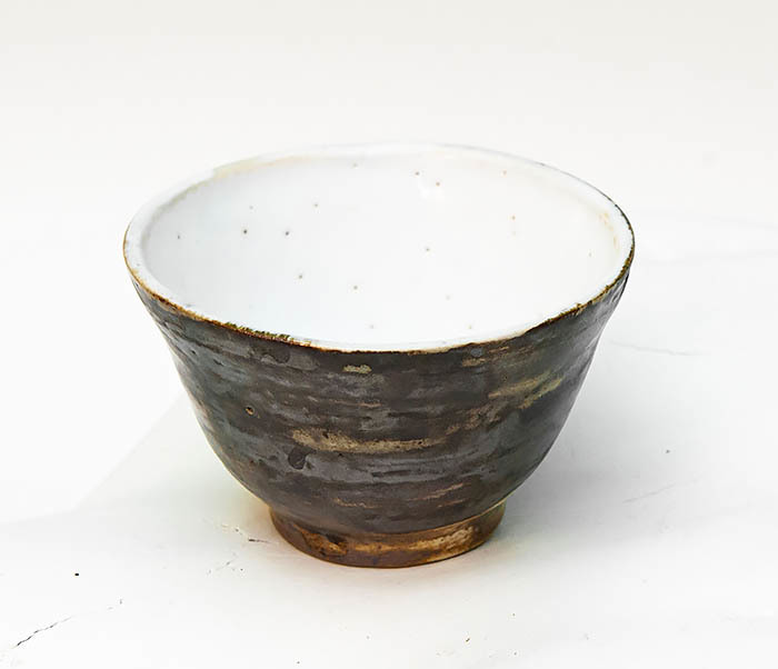 CUP105 Глиняная пиала для чая ручной работы (70 мл) фото 02
