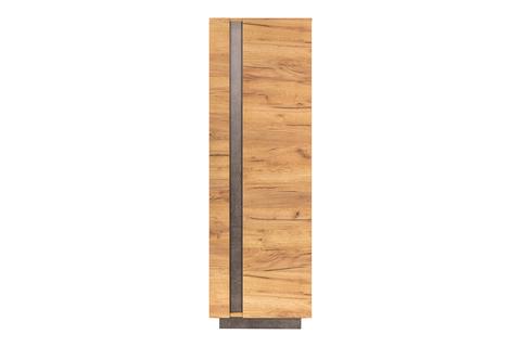 Шкаф комбинированный Арчи 10.05 Моби дуб золотой CRAFT, камень темный U3705