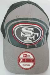 Кепка бейсболка New Era NFL Vintage collection San Francisco 49ers Gray