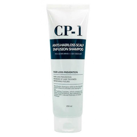 Шампунь для волос ПРОТИВ ВЫПАДЕНИЯ CP-1 Anti-hair loss scalp infusion shampoo, 250 мл