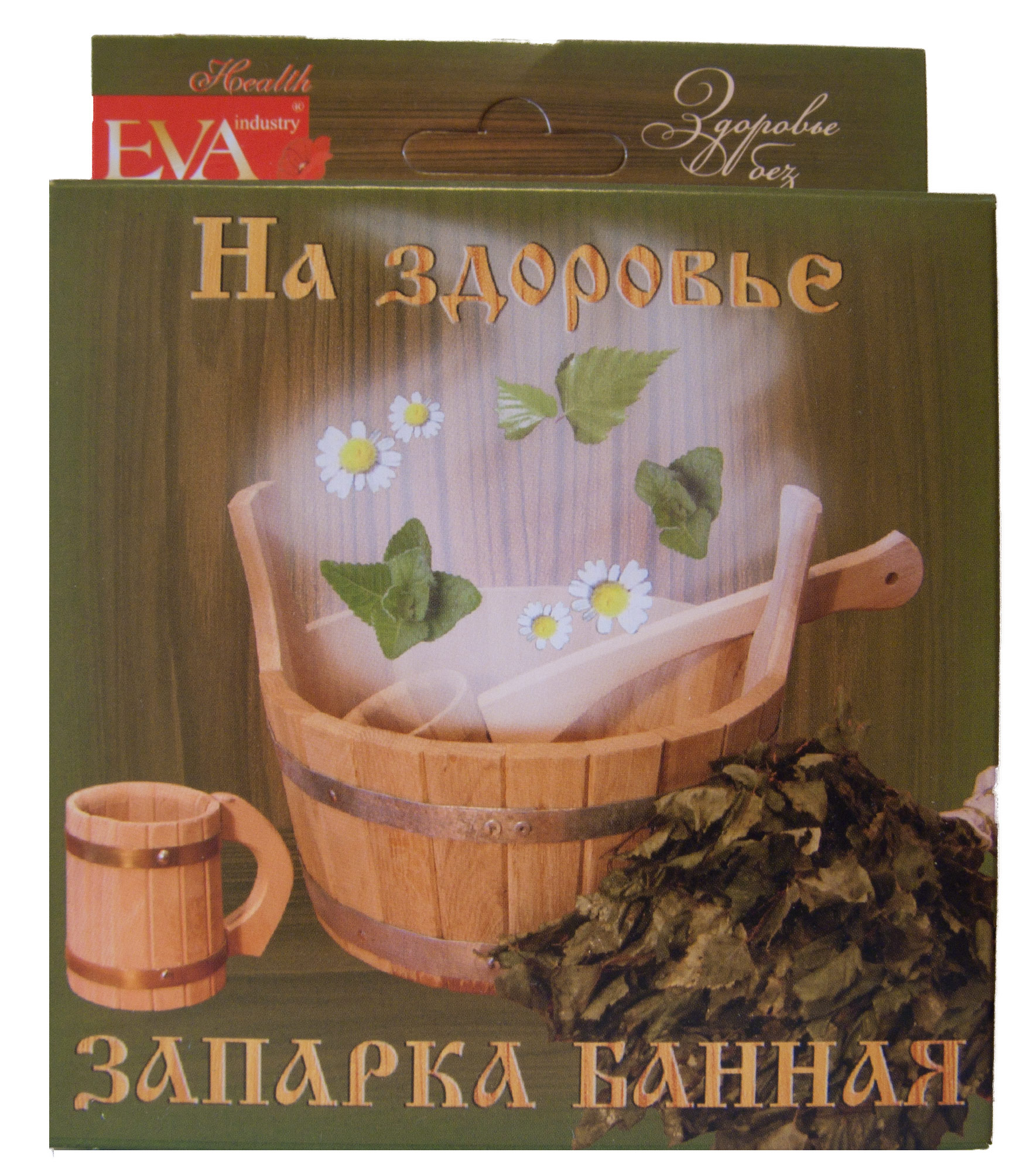 Запарка для бани На здоровье