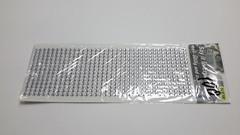 Клеевые стразы одноцветные 6 мм, 504 шт.