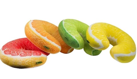 Подушка-подголовник Gekoko «Лимон» 7