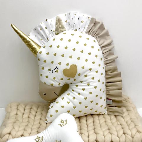 Бортик подушка Единорог 5