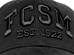 Бейсболка Спартак черная FCSM