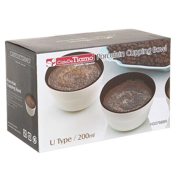 Чашка для каппинга Tiamo 200 мл (6 шт/уп)