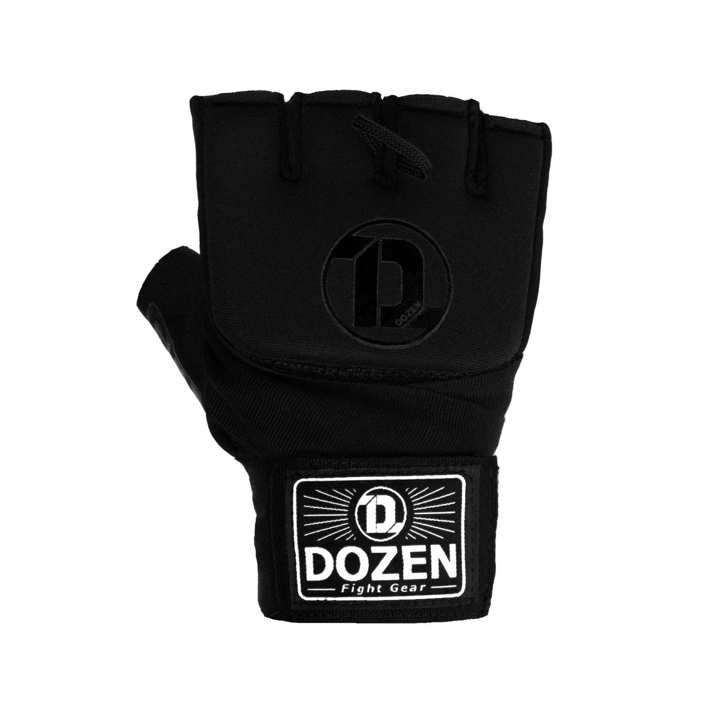 Быстрые бинты черные Dozen Pro Gel-Air Inner спереди