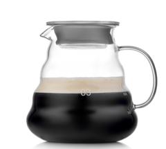 Стеклянный заварочный чайник-кофейник aka Hario, 700 мл