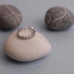 Кольцо «Звезды» с кристаллами Swarovski