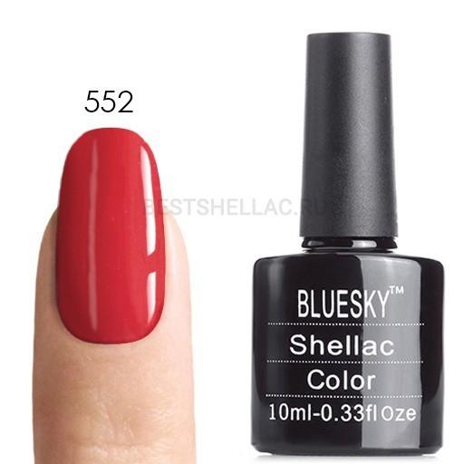 Bluesky Shellac 40501/80501 Гель-лак Bluesky № 40552/80552 Lobster Roll, 10 мл 552.jpg
