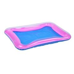 Надувная песочница для песка 60 х 45 см, цвет розовый