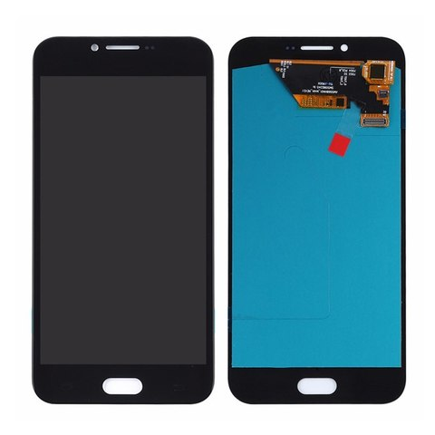 LCD SAMSUNG A8 2016 A810H + Touch Black Orig