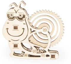 Вудик Улитка Wood Trick - деревянный конструктор, сборная миниатюрная модель, 3D пазл