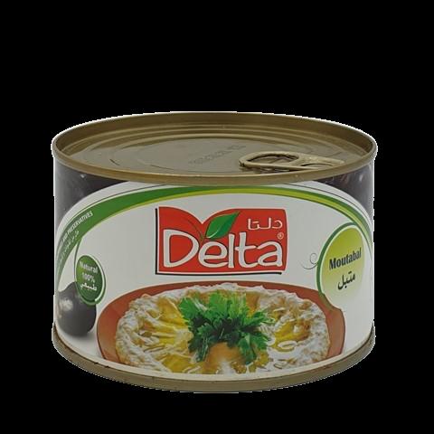Мутабаль пюре из печеных баклажанов Delta, 375 гр