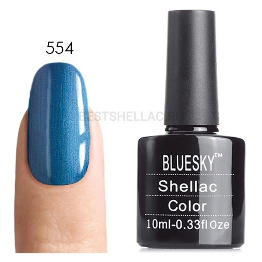 Bluesky Shellac 40501/80501 Гель-лак Bluesky № 40554/80554 Water Park, 10 мл 554.jpg