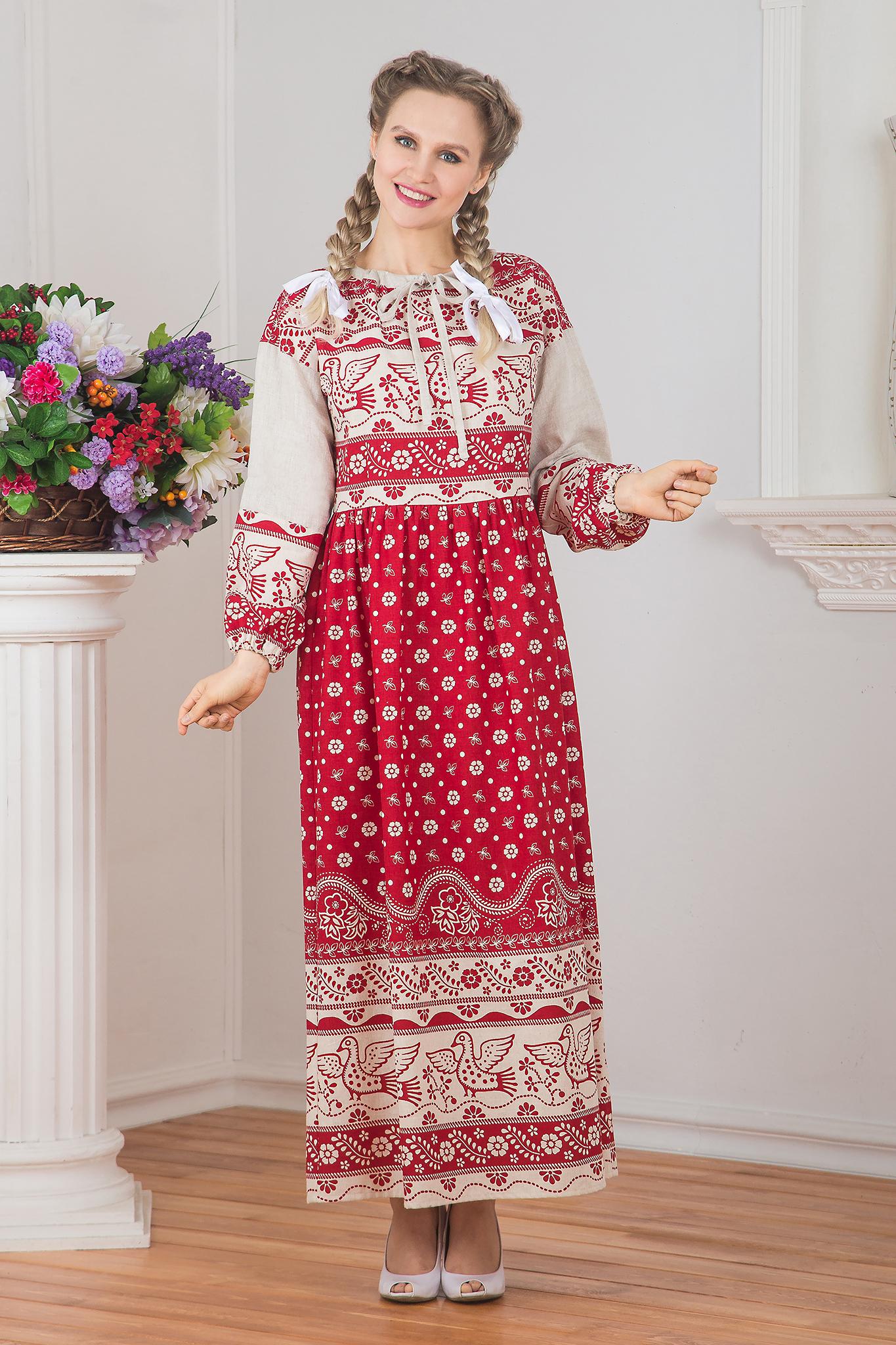 Славянское платье Певчее