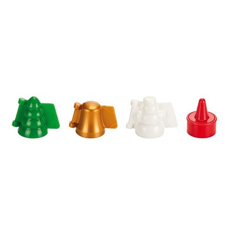 Формочки для печенья с начинкой Tescoma DELICIA, 3 рождественских формы