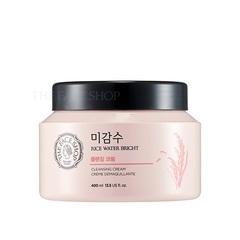 Очищающий крем THE FACE SHOP Rice Water Bright Cleansing Cream 400ml