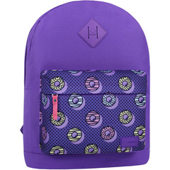 Рюкзак Bagland Молодежный W/R 17 л. 170 Фиолетовый 745 (00533662)