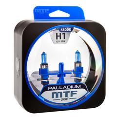 Галогенные лампы MTF Light PALLADIUM H1 55W