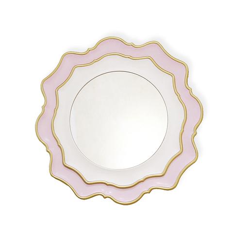 Зеркало дизайнерское 345690 by Light Room (розовый)