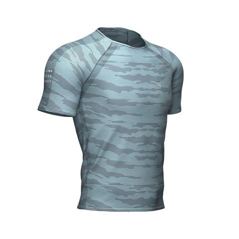 Футболка Training Camo Stripe Голубой