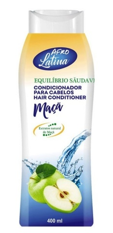 AFRO LATINA Hair Conditioner 400 ml Apple (яблоко)
