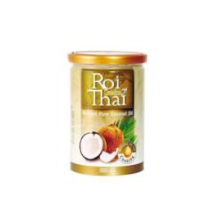 Рафинированное 100% кокосовое масло, Roi Thai