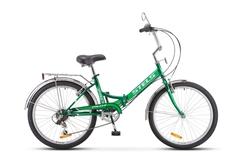 Складной велосипед Stels Pilot-750 зеленый