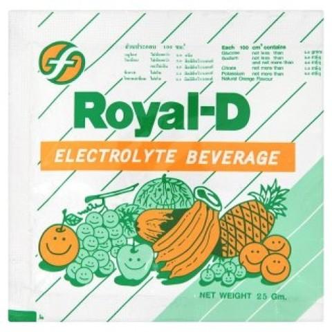 Купить выгодно в Иркутске Напиток электролит со вкусом апельсина Royal-D