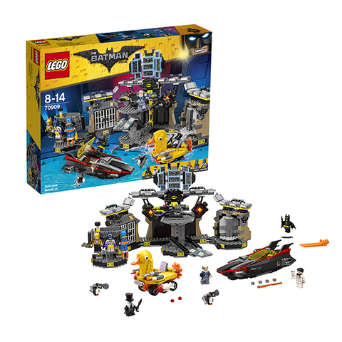 LEGO Batman Movie: Нападение на Бэтпещеру 70909 — Batcave Break-in