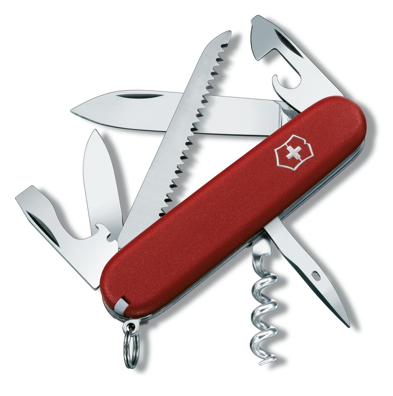 Складной нож Victorinox Camper Ecoline (3.3613) 91 мм., 13 функций, цвет красный