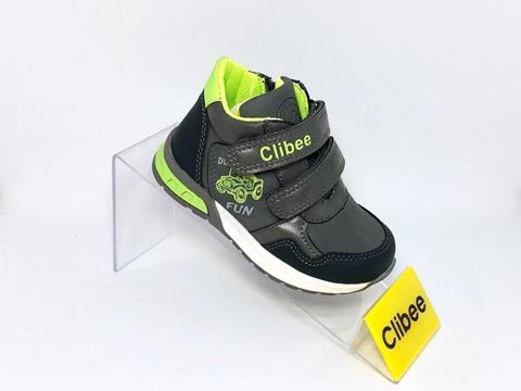 Clibee P260 (деми) Gray/Green 21-26