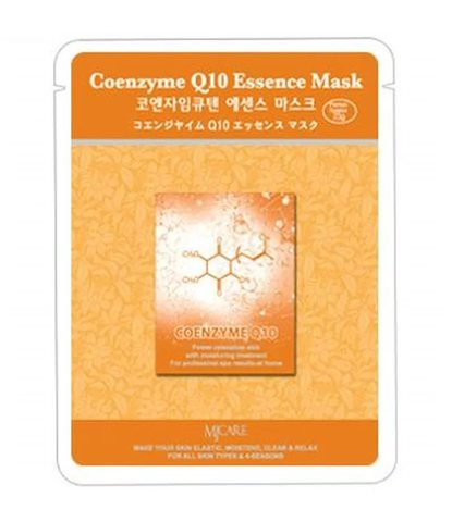 Тканевая маска для лица коэнзим Q10 MIJIN Care Mask