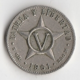 K10526 1961 Куба 1 сентаво
