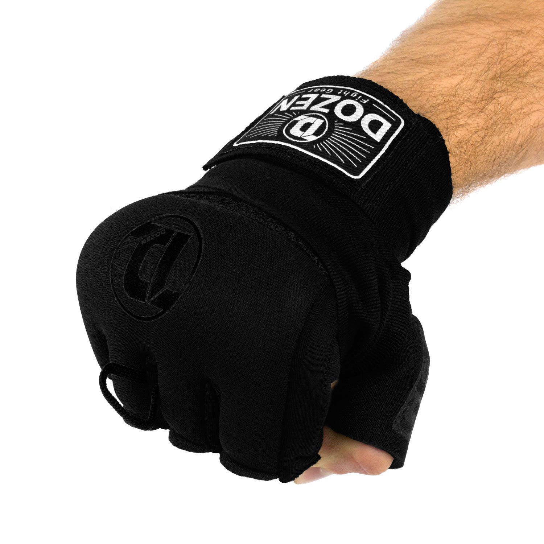 Быстрые бинты черные Dozen Pro Gel-Air Inner сжатый кулак
