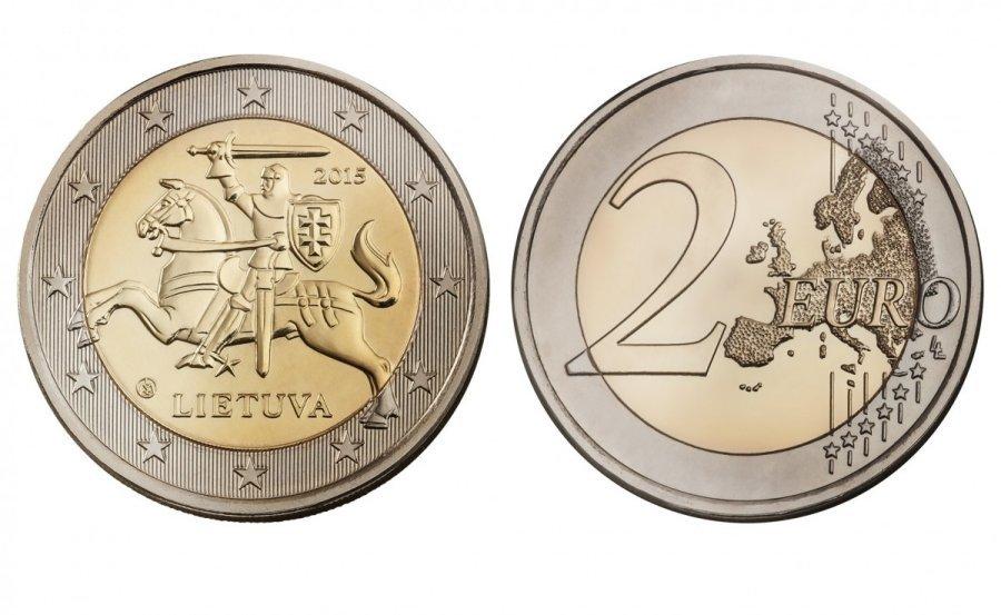 2 евро 2015. Литва