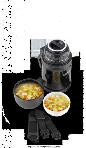Термос универсальный (для еды и напитков) LaPlaya Traditional (0,8 литра), черный