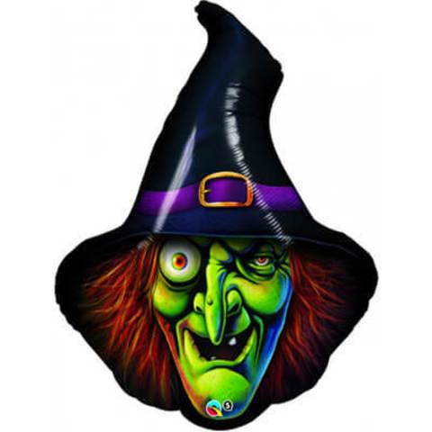 Фигура фольга Голова ведьмы