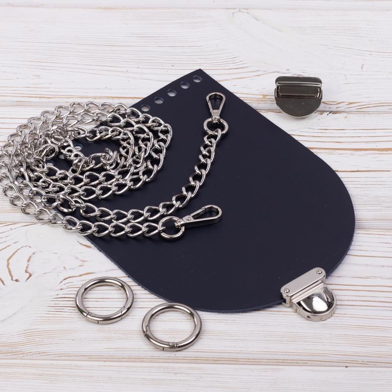 """Комплект для сумочки """"Орео"""" с бесплатным видео уроком Комплект для сумочки Орео """"Ночное небо"""" с цепочкой IMG_7121.jpg"""