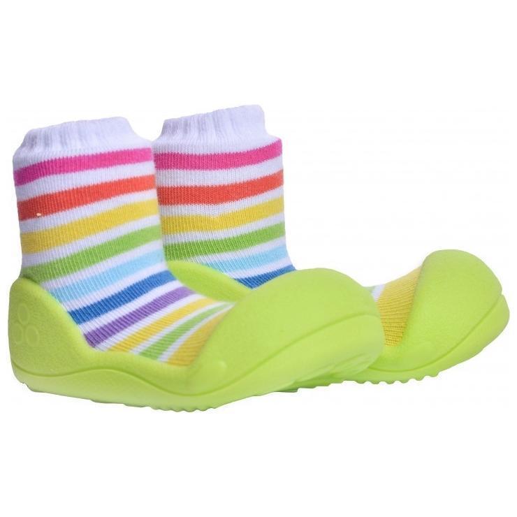 Детская обувь, ботинки марки Attipas RainBow зеленый