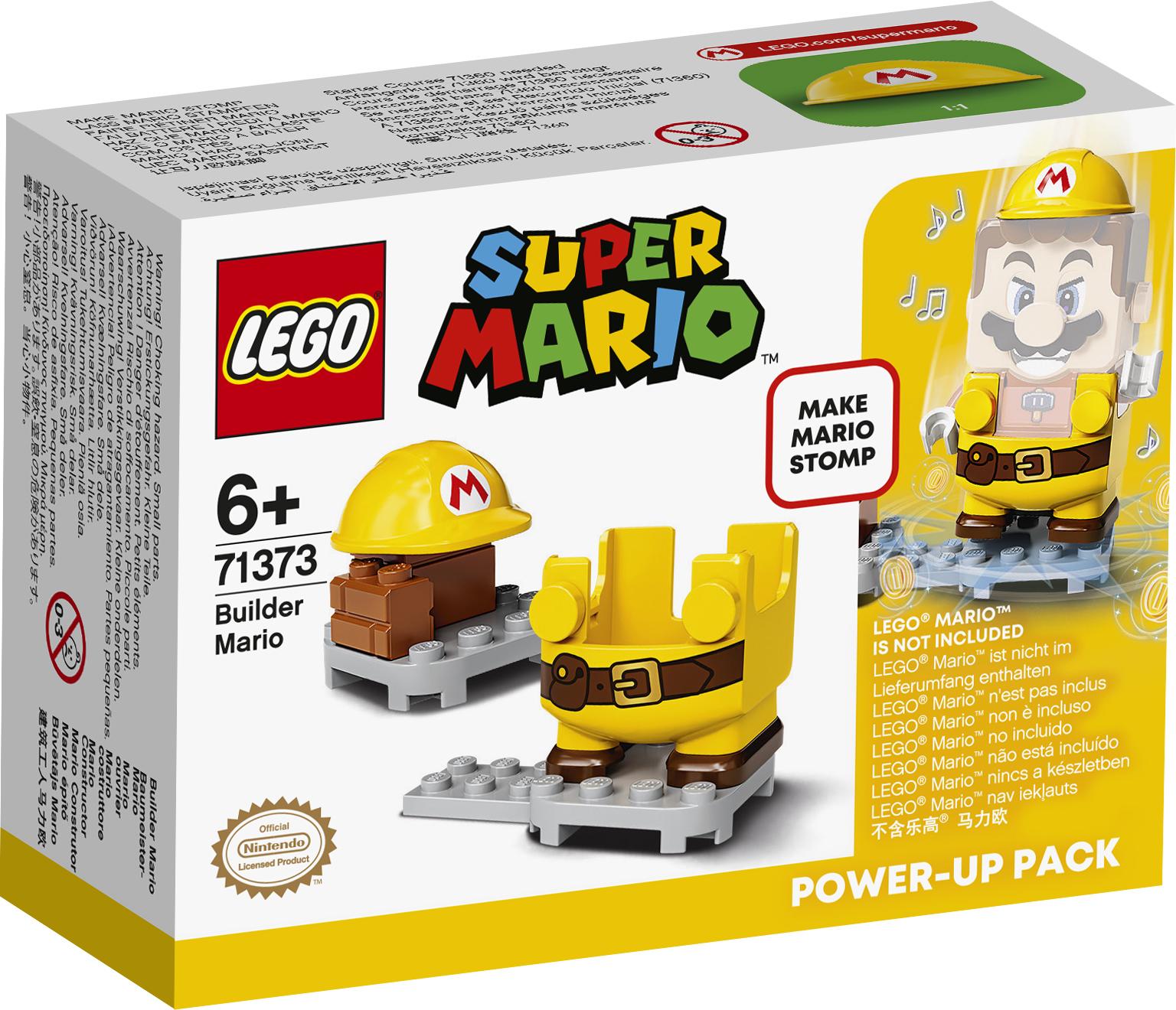 Конструктор LEGO Super Mario 71373 Набор усилений Марио-строитель